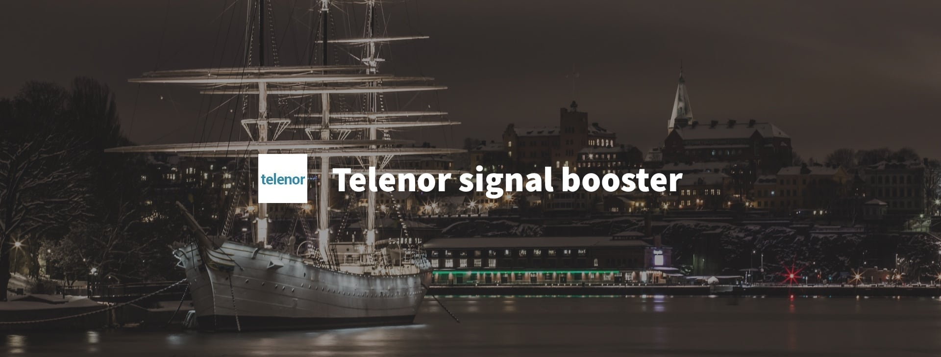 Telenor mobile signal