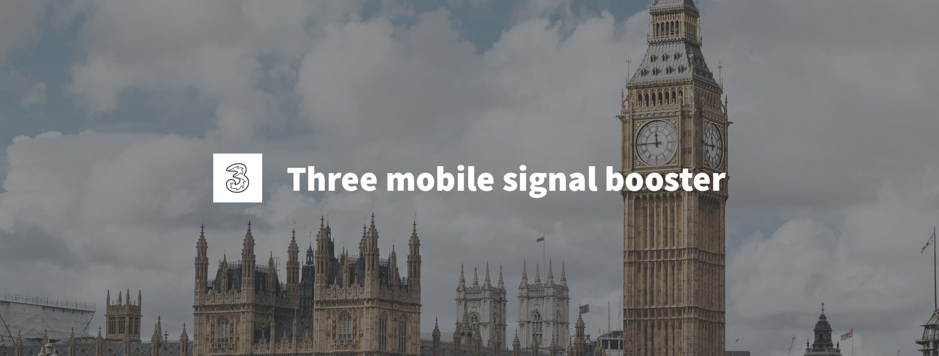 mobile phone signal booster Three