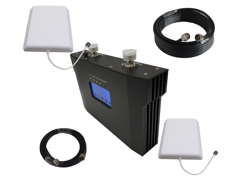 cell phone signal booster nikrans ns-5000-voice, 3g & 4g pro