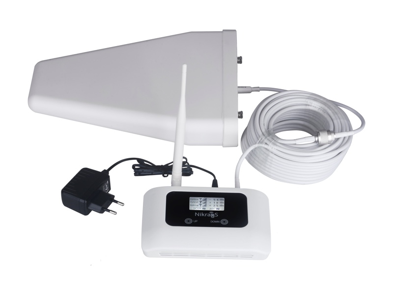 gsm/4g lte 1800 mhz repeater nikrans lcd-150d